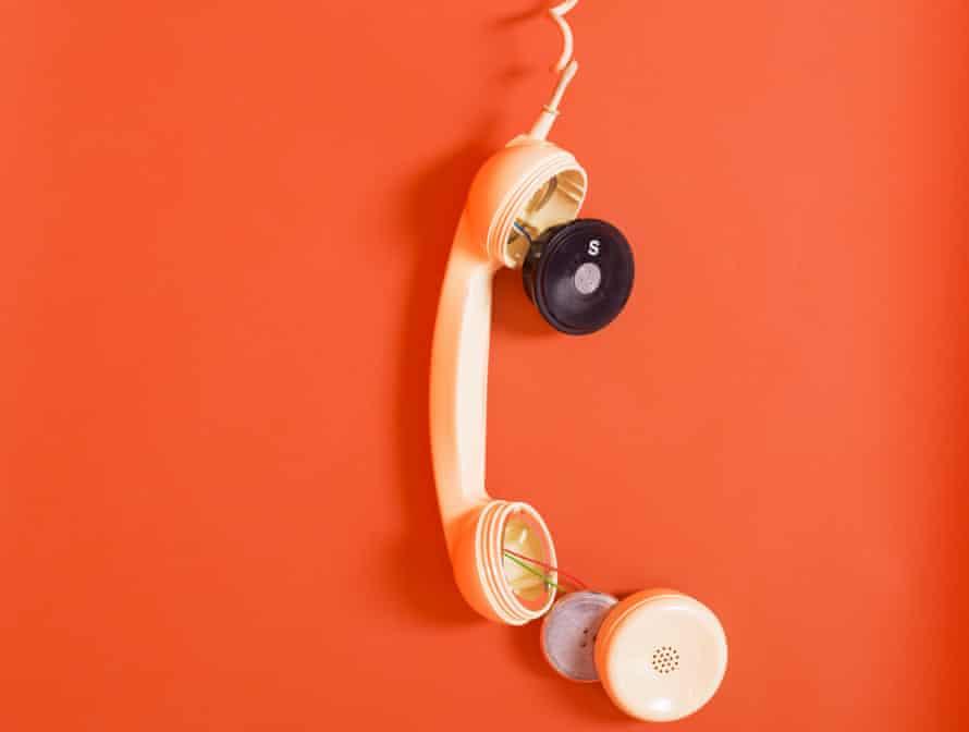 a broken landline