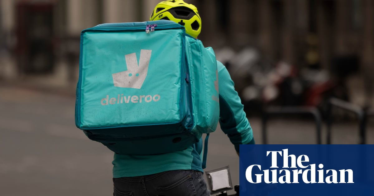 Deliveroo riders planning strike across England over pay and conditions