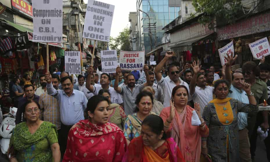Indians protest