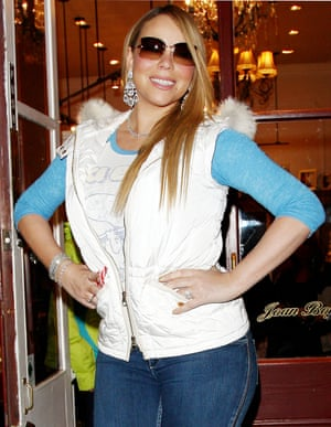 All about that chandelier earring and gilet apres ski vibe in Aspen, 2012.