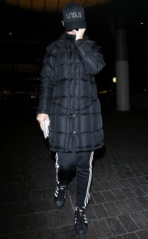 Katy Perry in her beloved Adidas.