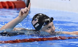 Rio 2016: USA's Lilly King won her second semi-final.