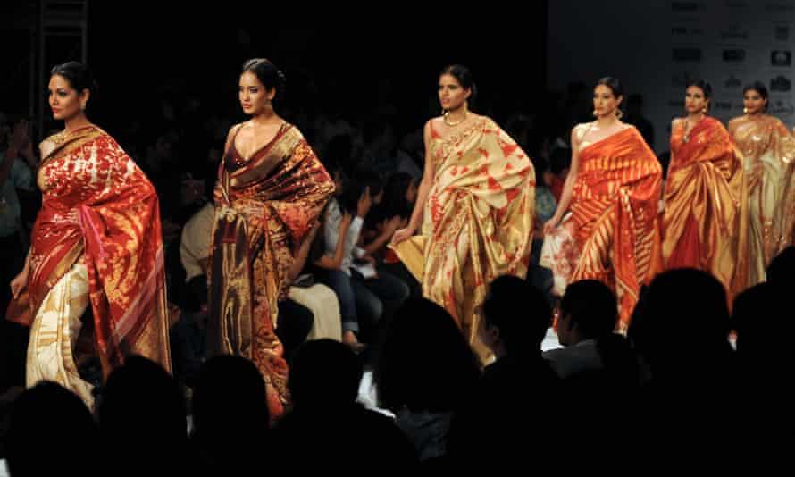 The Satya Paul show at the Kolkata Fashion Week, September 2009.