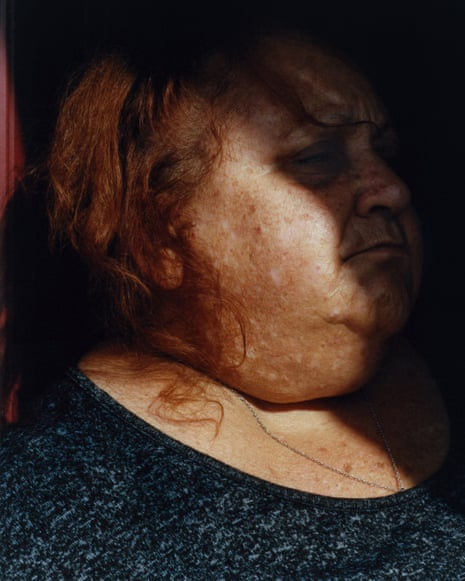 From the series Goldie (Mother) by photographer Pat Martin shown as part of his Taylor Wessing series.
