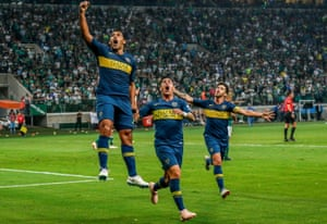 Boca Juniors will meet River Plate in the two-legged Copa Libertadores final later this month.
