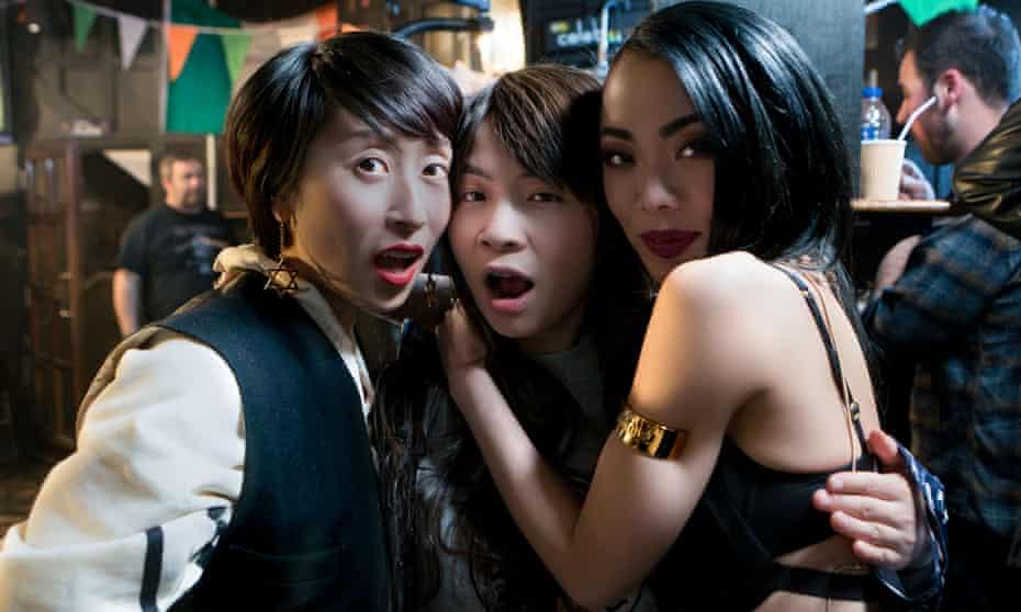 Yuyu Rau, Shin-Fei Chen and Yennis Cheung in Chinese Burn