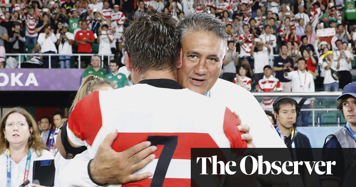 'I am hugely proud': Japan's Jamie Joseph praises team after Ireland upset