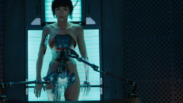 Ghost In The Shell Review Scarlett Johansson Remake Lacks Mystery Film The Guardian