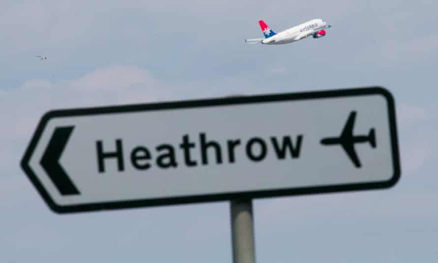The government approved expansion at Heathrow in 2016.