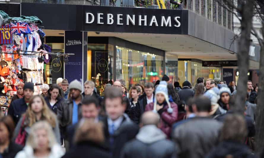 Faced by strong online competition Debenhams has issued three profit warnings this year.