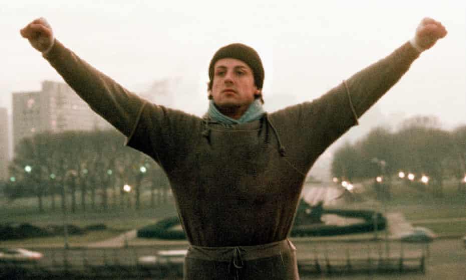 Sylvester Stallone as Rocky Balboa in Rocky