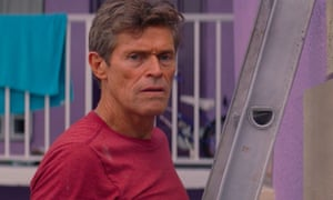 Willem Dafoe in The Florida Project: no time to lose.