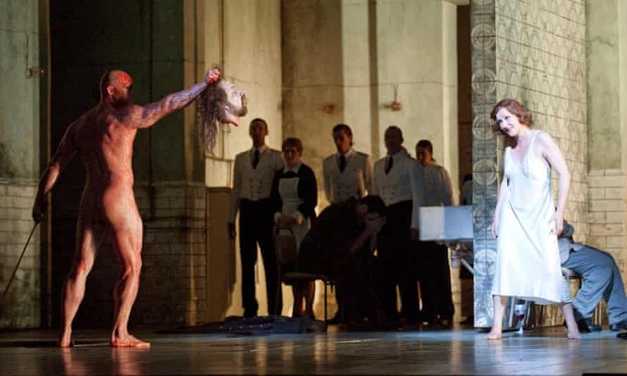 'Mind-blowing intensity' ... Richard Strauss's Salome, in a Royal Opera House production.