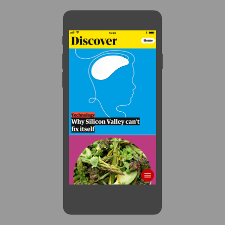 The Guardian app: new Discover feature