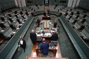 Parliament adjourns until the budget.