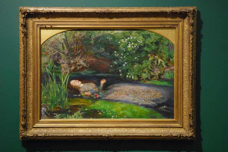 John Everett Millais's Ophelia (1851-2).