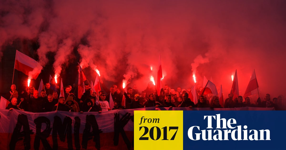 White Europe': 60,000 nationalists march on Poland's
