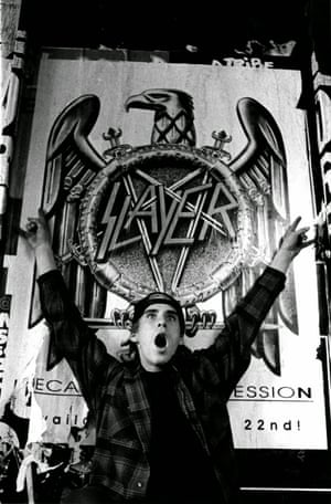 John Cardiel and Slayer poster, San Francisco, 1991 by Tobin Yelland. The Against the Grain exhibition kicks off with an event run in association with the Hayward Gallery, tracing south London skate spots critical to the Palace story, and fundraising for Long Live Southbank, the campaign to restore and save the fabled Undercroft skatepark