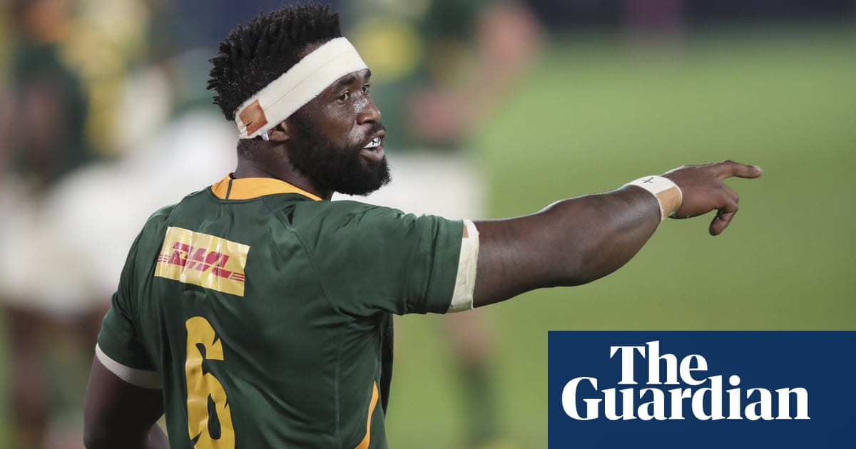 South Africa captain Siya Kolisi passed fit for first Lions Test