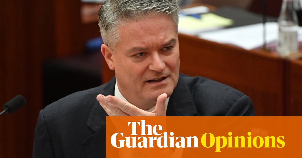 Mathias Cormann wants to be a chameleon on climate change when we've got a bin fire instead of a plan - The Guardian