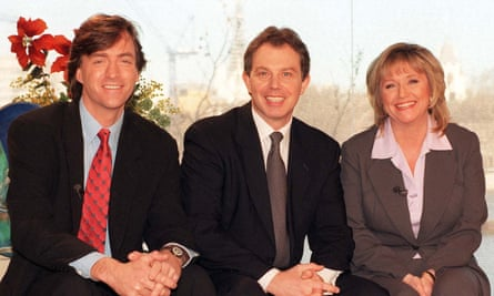 With Tony Blair in 1997.