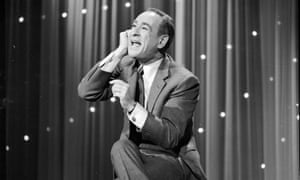 Shelley Berman performing his famous telephone routine on the TV variety show Hollywood Palace in 1964.