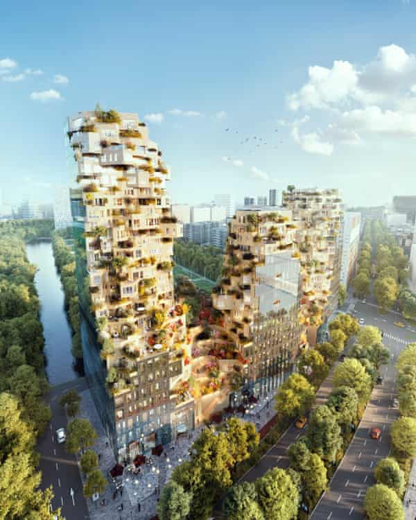 Green buildings… The Valley, an MVRDV and Edge project for Amsterdam.