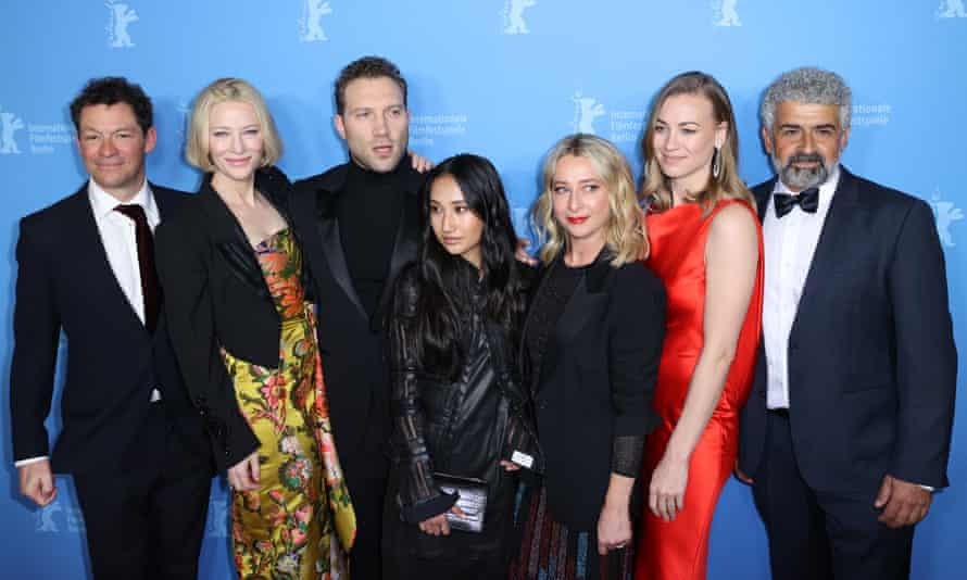 Cate Blanchett and the cast of Stateless on the red carpet at the 2020 Berlinale.