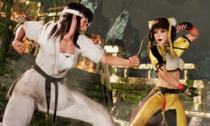 The most graphically impressive beat-'em-up ever ... Dead or Alive 6.