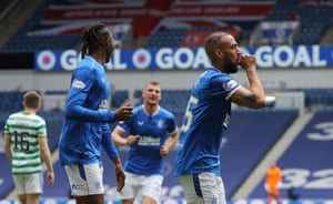 Goal for Rangers!