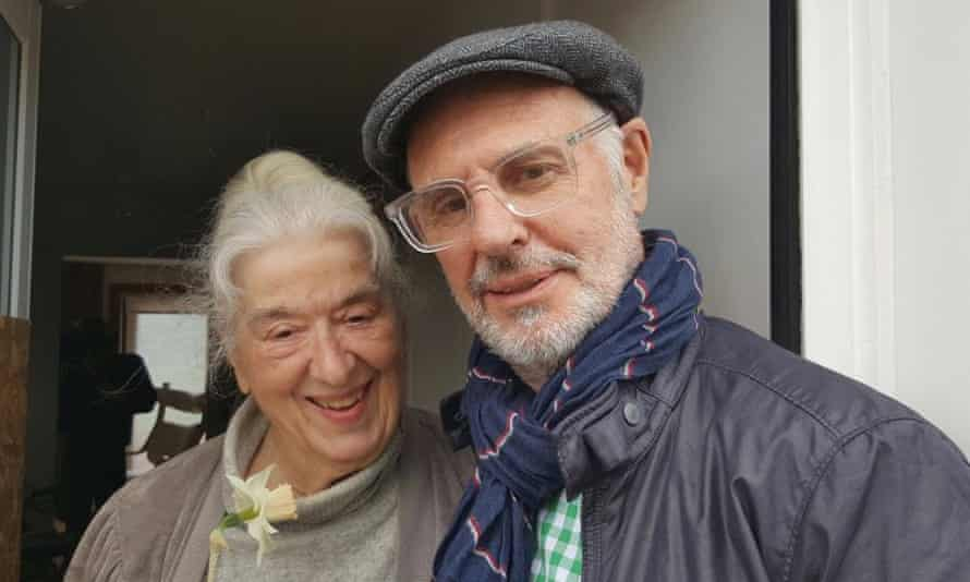 Dr Avril Henry with Dr Philip Nitschke, founder of pro-euthanasia group Exit International.