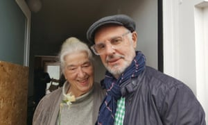 Dr Avril Henry with Philip Nitschke