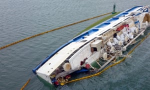 The livestock vessel Queen Hind, carrying 14,600 sheep, capsized off Romania in 2017.