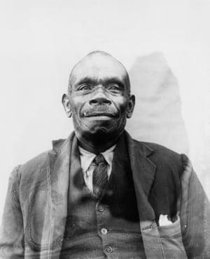 Portrait of an Australian South Sea Islander man in Brisbane, Queensland, ca.1903 Photographer unknown.