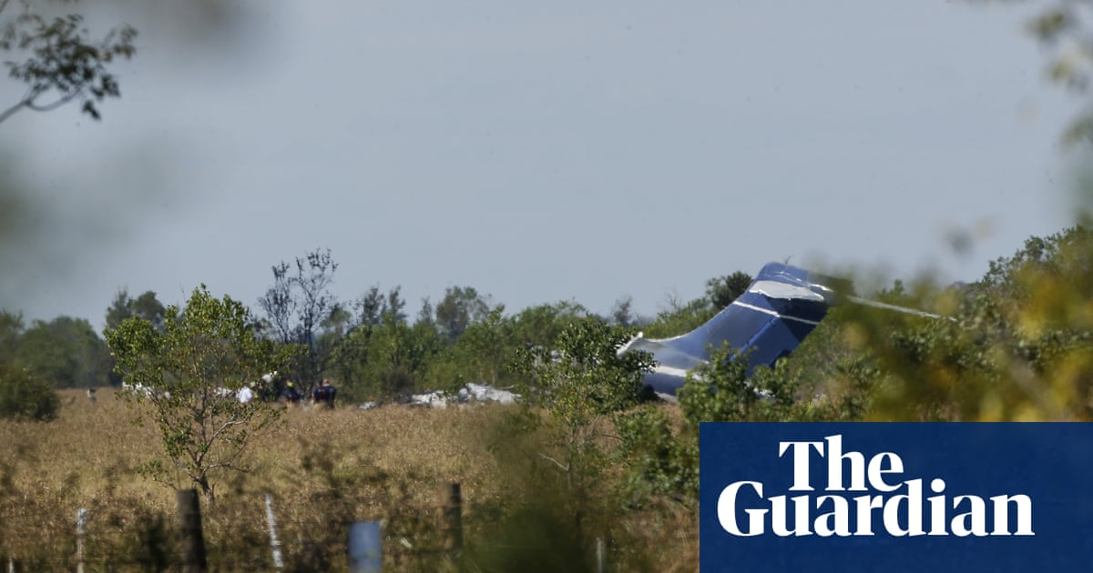 All onboard escape unharmed after plane runs off Texas runway and burns