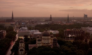 Riga, capital of Latvia, which has lost more than a quarter of its population in the last 30 years.