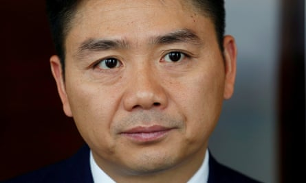 JD.com founder Richard Liu who was accused of raping student Liu Jingyao in Minneapolis in August 2018.