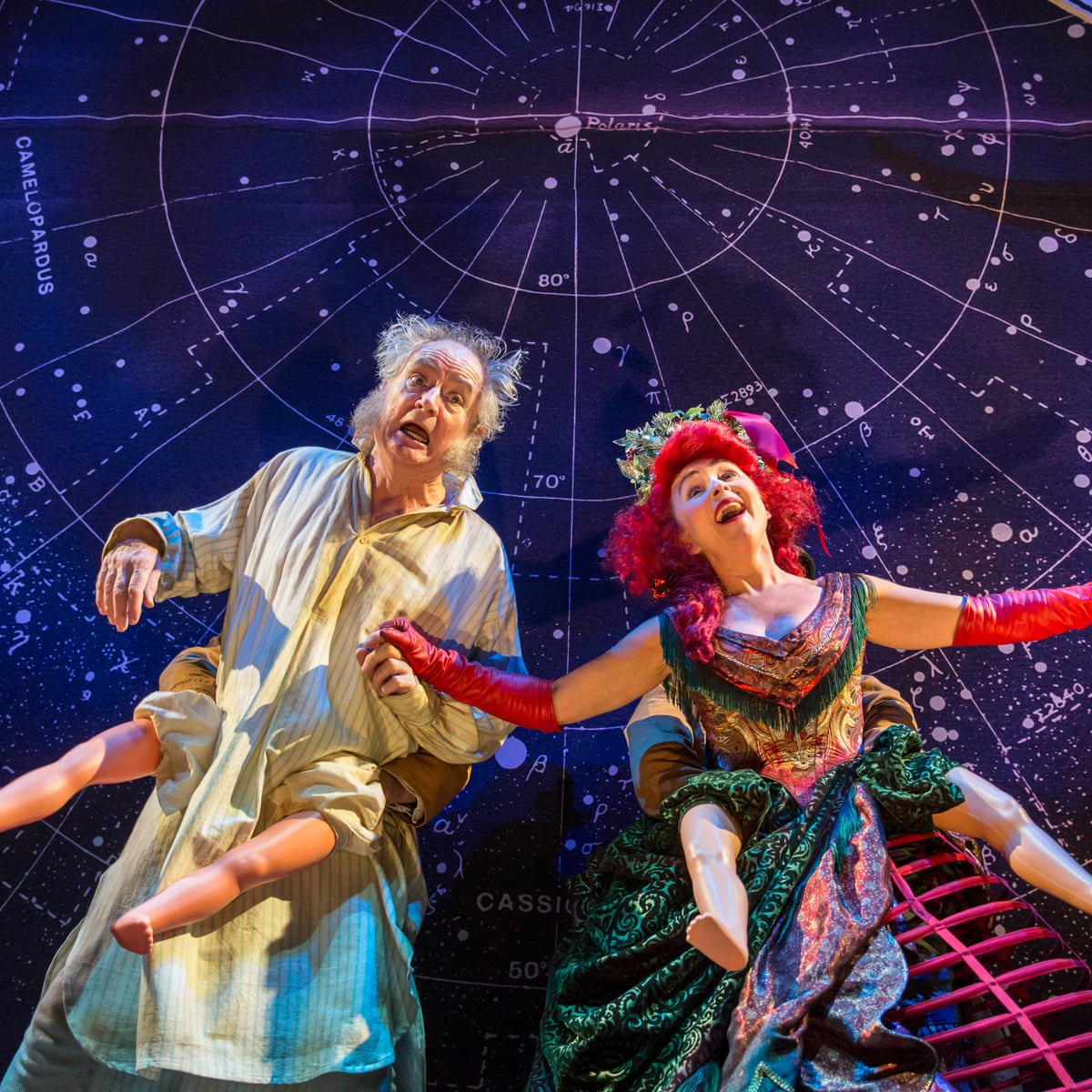 A Christmas Carol Review Jim Broadbent S Sentimental Scrooge Has A Twinkle In His Eye Theatre The Guardian