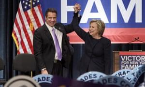 Hillary Clinton Andrew Cuomo