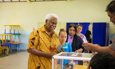 روچ وامیتان ، رئیس کنگره ، در دومین رفراندوم رأی آورد.