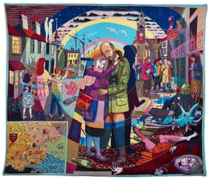 Grayson Perry's In Its Familiarity, Golden (2015).