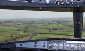 view from a cockpit