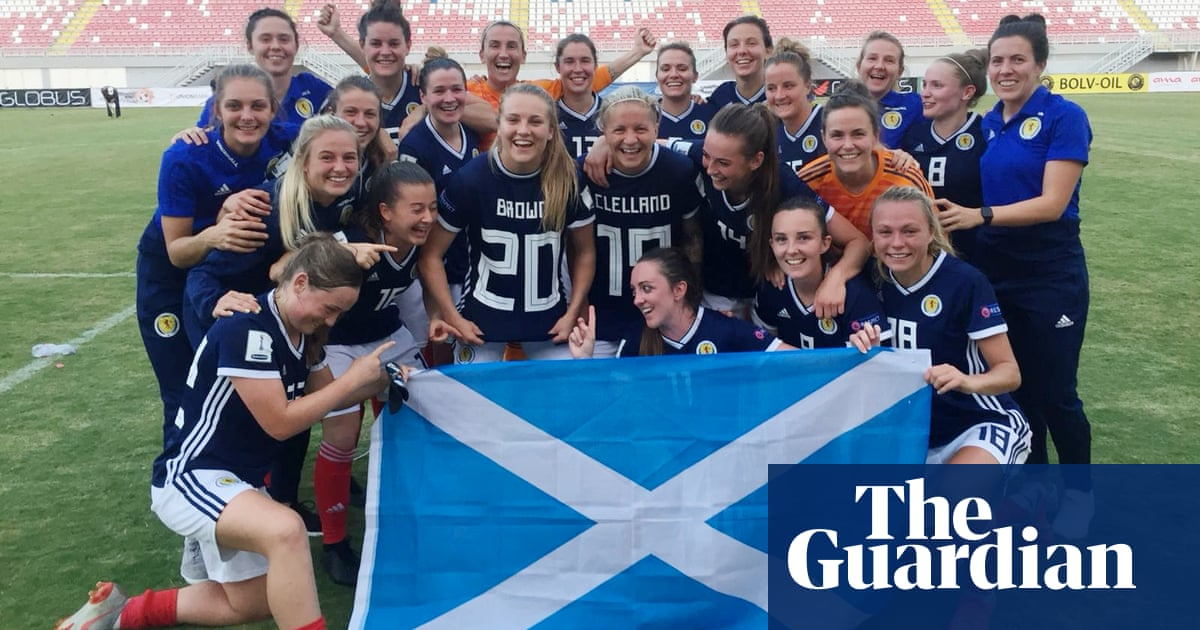 2a065ad2e Scotland qualify for Women s World Cup for first time as England win ...