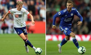 David Brooks (left) and James Maddison cut their teeth at Sheffield United and Coventry City respectively and both earned Premier League moves this summer.