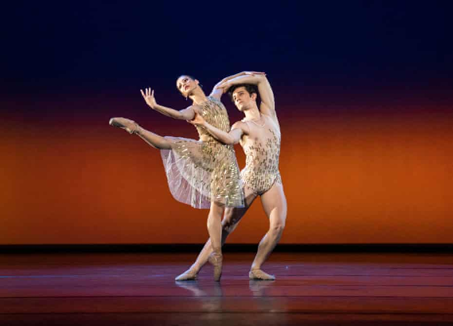 Francesca Hayward and Valentino Zucchetti in Within the Golden Hour.