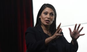 Priti Patel is keen on leaving the EU.