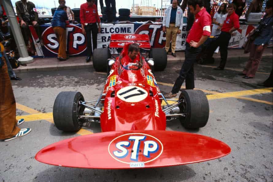 Ronnie Peterson's March 711 before the 1971 Monaco Grand Prix