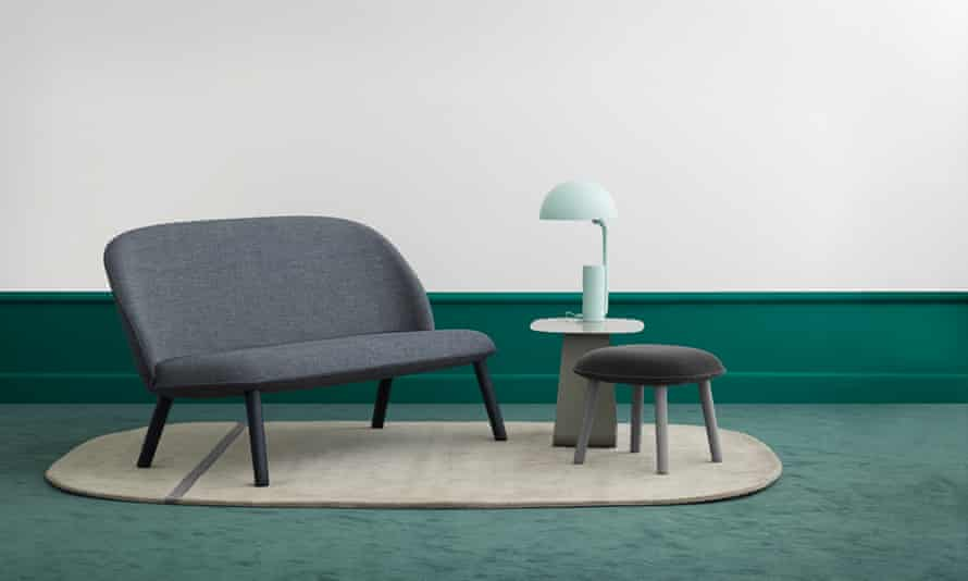 Sitting comfortably: the 6030 Ace Series 19 sofa from Normann Copenhagen.
