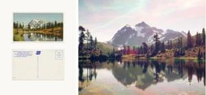 Mount Shuksan from Mount Baker Lodge Lakes, Washington, US, 2014