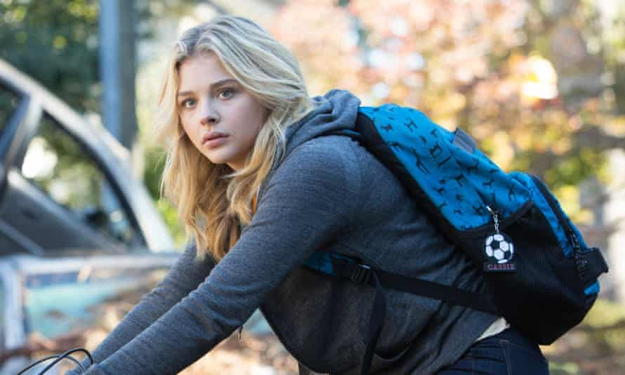 Chloë Grace Moretz: 'I had to pick it up and go back on set and pretend he was a love interest, and it was really hard.'